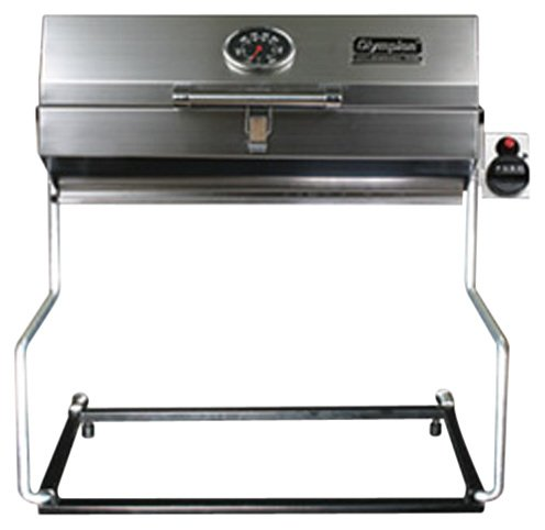 Camco Olympian 5500 Stainless Steel Portable Grill