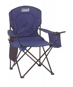 Coleman Camping Oversized Quad Folding Chair with Cooler