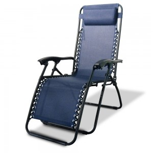Kick back and relax in this comfortable camping folding chair.