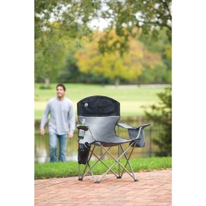 Coleman Cooler Quad folding camping chairs