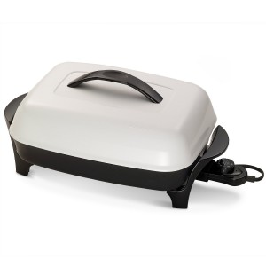 Electric Skillet with Diamond Coat