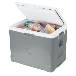 Igloo Cool Chill Thermoelectric Cooler (Mercury:White, 40-Quart)
