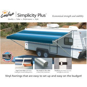 Vinyl Awning - Fifth Wheel Camping
