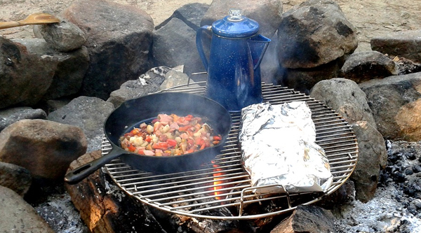 Camping Meals For a Week – A Menu Designed For You